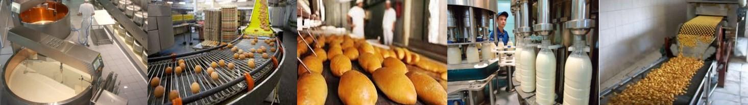 Tepalai maisto gamybos mechanizmams
